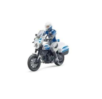 harga Bruder 62731- bworld Scrambler Ducati police motorcycle Blibli.com