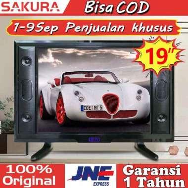 harga Sakura tv led 19 inch tv murah HD Televisi TCLG-S19L 19 inch - Blibli.com