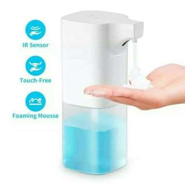 harga Automatic dispenser soap sabun dispenser otomatis foam handsanitizer cair White Blibli.com
