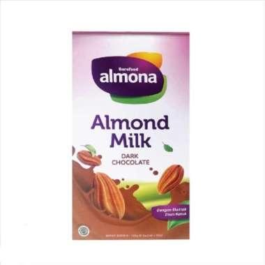 harga Almona Almond Milk Powder ASI BOOSTER with Daun Katuk 125gr - Dark Cokelat Blibli.com