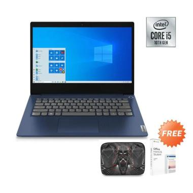 Lenovo Ideapad Slim 5i 81YH00K5ID Notebook- LightTeal ( I5-1035G1 / 8GB / 512GB / MX330 2GB / 14