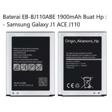 harga Original Baterai EB-BJ110ABE Buat Handphone Samsung Galaxy J1 ACE Blibli.com