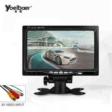 harga Yoelbaer Layar Monitor Mobil TFT LCD 7 Inch HITAM Blibli.com