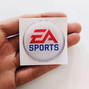 harga Stiker Motor- Mobil EA Sports Stiker Helm Timbul Aksesoris handphone WHITE Blibli.com