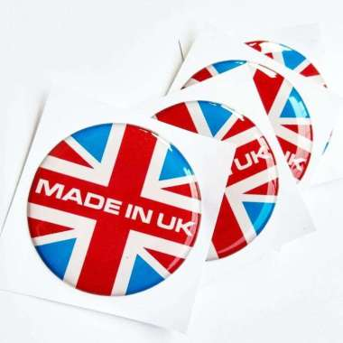harga Stiker Timbul MADE IN UK Aksesoris Motor Emblem Mobil Aksesoris motor RED Blibli.com