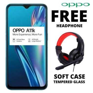 harga Oppo A11K 2-32 GB Free Headphone BLACK Blibli.com