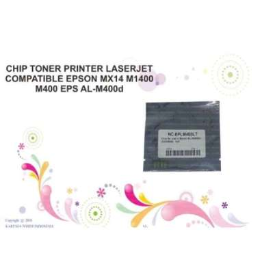 harga CHIP TONER PRINTER LASERJET COMPATIBLE EPSON MX14 M1400 M400 EPS AL-M4 Multicolor Blibli.com