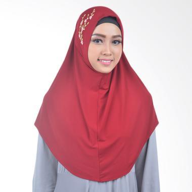Inara House Sakura Hijab - Merah Hati