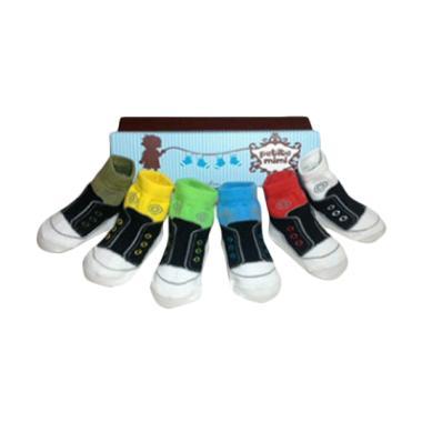 Petite Mimi Socks Casual Kaos Kaki Bayi 0-12 bulan Multicolor