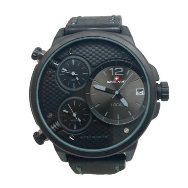 Swiss Army Jam Tangan Pria - Black