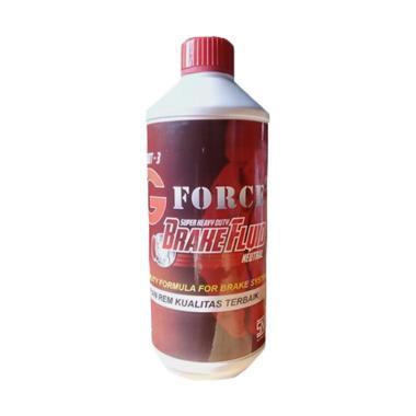 G Force Brake Fluid DOT-3 Minyak Rem Merah [1 L]