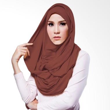 Milyarda Hijab Hana Twist - Coklat