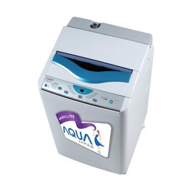Aqua AQW-85SB Mesin Cuci - White [1 Tabung/Top Loading] KHUSUS BANDUNG