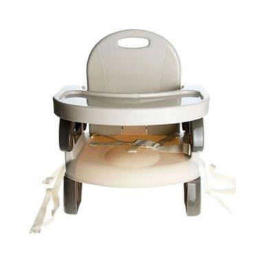 BabyDoes Foldable Booster Seat Kursi Makan Bayi - Coklat