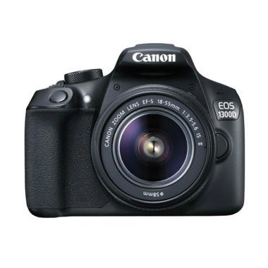 Canon EOS 1300D Kit EF-S 18-55MM F/3.5-5.6 IS II Kamera DSLR jpckemang