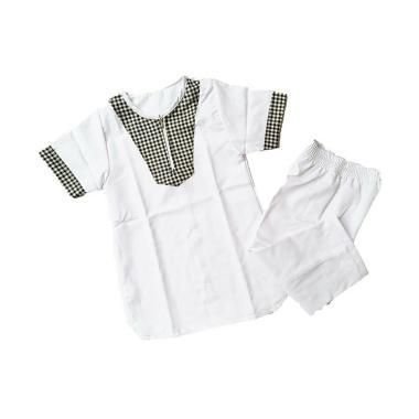 LANIEA Turki Kotak Kecil Set Baju Koko Anak - White