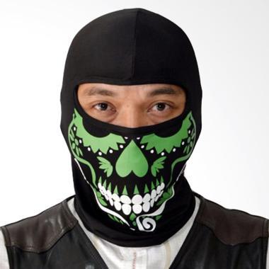Roduta Balaclava Masker Full - Hijau Tua