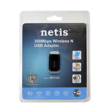 Netis WF2123 Wireless N USB Adapter [300 Mbps]