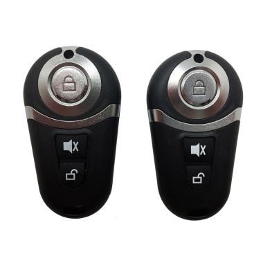 R4 68 Set Alarm Mobil dan Kunci Remote Control