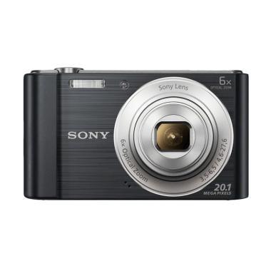 SONY W810 Compact Camera Mirorless - Black