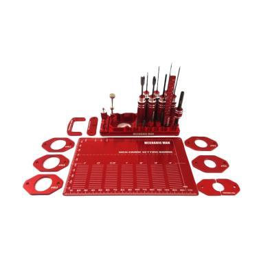 Akiba Hobby Mechanic Man Toolset - Merah