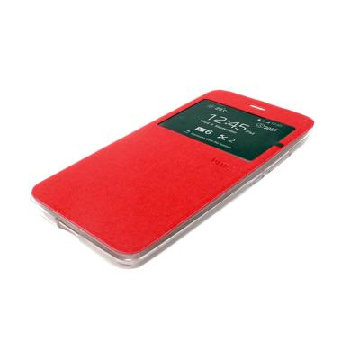 Ume Flip Cover Casing for Samsung Galaxy A8 - Merah