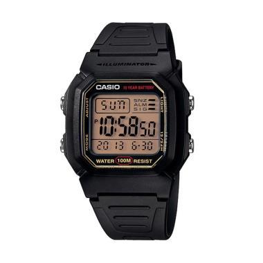 Casio Digital [W-800HG-9AV] Jam Tangan Casual Pria - Hitam