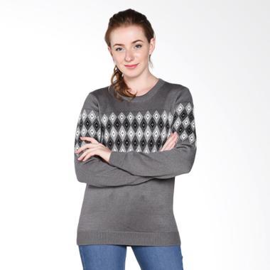 COLDWEAR 14799 Ladies Wool Sweater - Grey