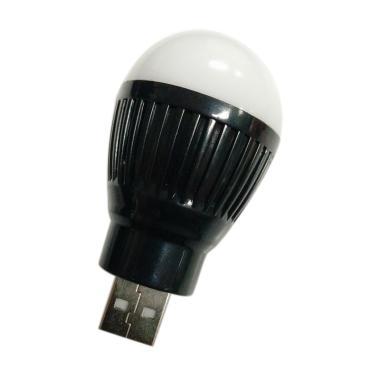 Griya's Bohlam LED USB Lampu Mini - Hitam