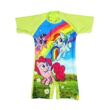 Nice Motif Cute Pony Baju Renang Anak – Hijau