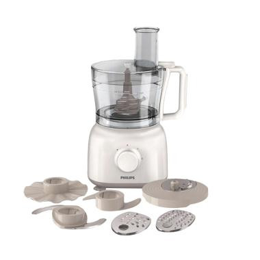 Philips HR 7627 Food Processor - Putih