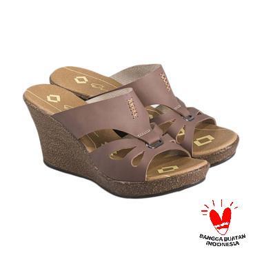 harga Everflow VES 04 Sandal Wedges Wanita Blibli.com