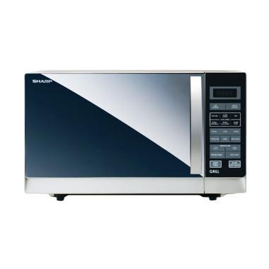 SHARP R-728W-IN Microwave Grill - Putih [25 L]