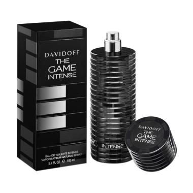 Davidoff The Game Intense for Men EDT Parfum Pria Original [100 mL]