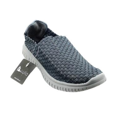 Lulia Man VS36 Sepatu Rajut Pria - Abu Tua