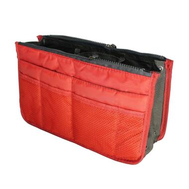 D'Cheryl Nylon Import Bag In Bag - Orange