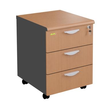 Euro DMD 4030 Mobile Drawer - Cherry [3 Laci]