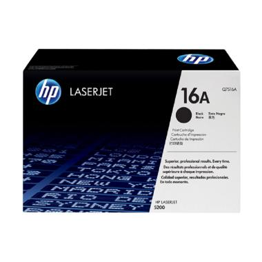 harga HP Original 16A LaserJet Toner Cartridge - Black Blibli.com