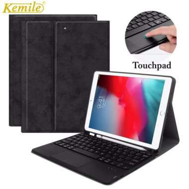 harga Ipad mini 5 flip case bluetooth keyboard trackpad with pencil holder 1A hitam Apple iPad Mini 5 Blibli.com
