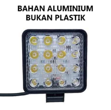 harga Lampu LED Sorot Tembak Worklight Mobil Motor 48 Watt 16 Titik Mata 48Watt Offroad 48W Spotlight W48 Putih Blibli.com