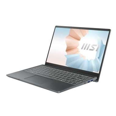 harga MSI Modern 14 B10RBSW-277 Notebook - [ I5-10210U/ 512GBSSD/ 8GB DDR4/ MX350 2GB/ Windows 10HOME ] Carbon Grey Blibli.com