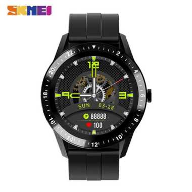 harga ORIGINAL SKMEI Smartwatch Jam Tangan LED Bluetooth Heartrate Monitor - S1 Waterproof Hitam Blibli.com