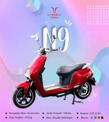 FREE ONGKIR SEPULAU JAWA SEPEDA MOTOR LISTRIK UWINFLY N9
