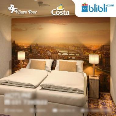 harga Costa Cruise Singapore and Malaysia Ocean Cruise [Singapore - Malacca - Singapore/ Superior + Inside]  Inside Classic Twin Blibli.com