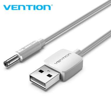 harga Vention Kabel Power USB to 3.5mm Jack 5V DC - CEX 0.5 Meter Putih Blibli.com