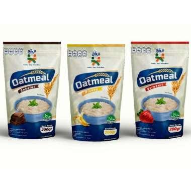 harga Oatmeal AIKO Coklat Makanan Untuk Bayi Hingga Dewasa Baik untuk IBU Hamil dan MPASI Blibli.com