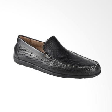 Ecco Classic MOC 2.0 Sepatu Pria - Black ECC57097411