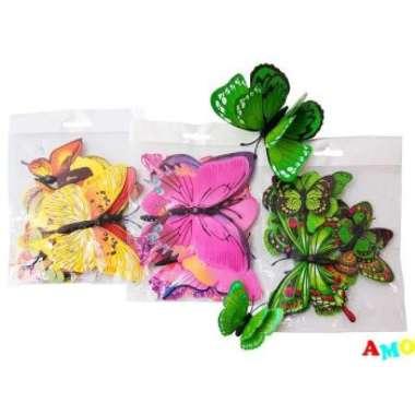 harga Gratis buble wrap TEMPELAN KULKAS MAGNET KUPU KUPU - TEMPELAN MAGNET BUTTERFLY mainan anak terbaru Blibli.com