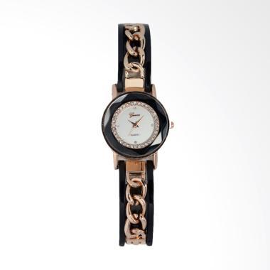 Geneva Analog FIN-250 C Jam Tangan Fashion Wanita - Black