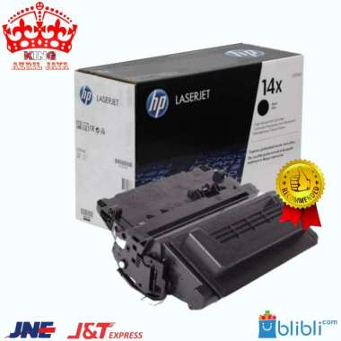 harga Toner HP LaserJet 14X Black CF214X Original Blibli.com